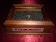 Wooden Gift Box for Championship Rings