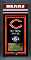Chicago Bears Super Bowl Championship Banner