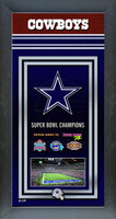 Dallas Cowboys Super Bowl Championship Banner