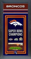 Denver Broncos Super Bowl Championship Banner