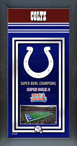 Indianapolis Colts Super Bowl Championship Banner