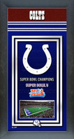 Indianapolis Colts Super Bowl Championship Banner