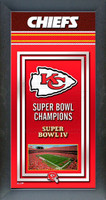 Kansas City Chiefs Super Bowl Championship Banner