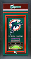 Miami Dolphins Super Bowl Championship Banner