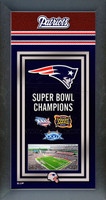 New England Patriots Super Bowl Championship Banner