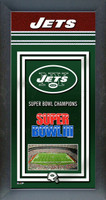 New York Jets Super Bowl Championship Banner