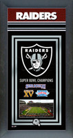 Oakland Raiders Super Bowl Championship Banner