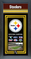 Pittsburgh Steelers Super Bowl Championship Banner