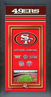San Francisco 49ers Super Bowl Championship Banner
