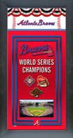 Atlanta Braves World Series Championship Banner