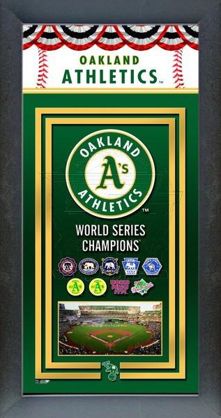 Oakland Athletics World Series Championship Banner