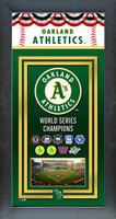 Oakland Athletics World Series Championship Banner