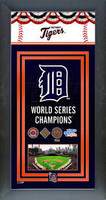 Detroit Tigers World Series Championship Banner