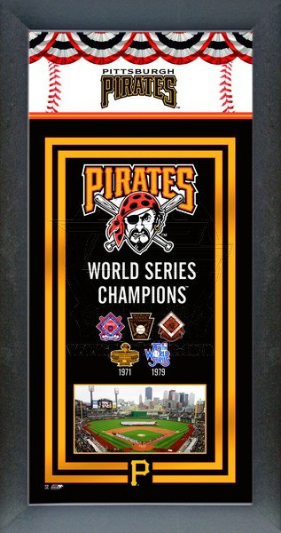 Pittsburgh Pirates World Series Championship Banner