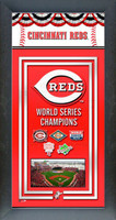 Cincinnati Reds World Series Championship Banner