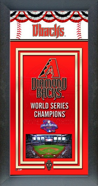 Arizona Diamondback World Series Championship Banner