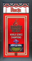 Arizona Diamondback World Series Championship Banner