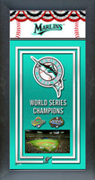 Miami Marlins World Series Championship Banner