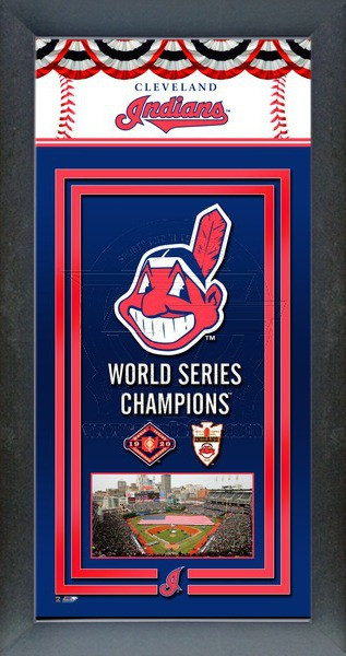 Cleveland Indians World Series Championship Banner