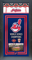 Cleveland Indians World Series Championship Banner