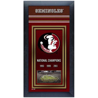 Florida State National Championship Years Framed Picture