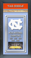North Carolina Basketball National Championship Years Picture