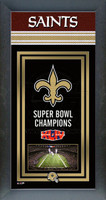 New Orleans Saints Super Bowl Championship Banner