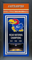 Kansas Jayhawks Basketball National Championship Years Picture