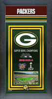 Green Bay Packers Super Bowl Championship Banner
