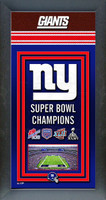 New York Giants Super Bowl Championship Banner