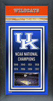 Kentucky Wildcats National Championship Years Picture