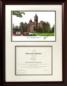 Auburn University Scholar Diploma Frame