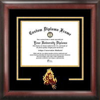 Arizona State University Spirit Diploma Logo Frame