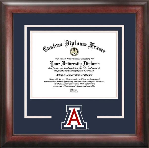 University of Arizona Spirit Diploma Framing