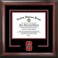 Stanford University Spirit Diploma Framing