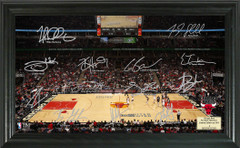 Chicago Bulls Team Signature Framed Picture