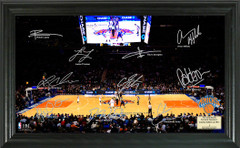 New York Knicks Team Signature Framed Picture