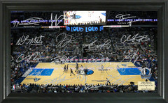 Dallas Mavericks Team Signature Framed Picture