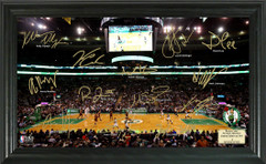 Boston Celtics Team Signature Framed Picture