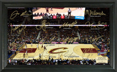 Cleveland Cavaliers Team Signature Framed Picture