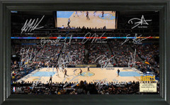 Denver Nuggets Team Signature Framed Picture
