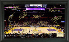 Los Angeles Lakers Team Signature Framed Picture