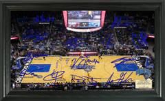 Orlando Magic Team Signature Framed Picture