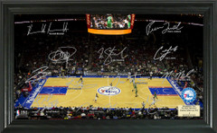 Philadelphia 76ers Team Signature Framed Picture