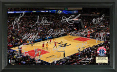 Washington Wizards Team Signature Framed Picture
