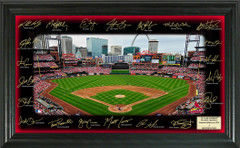 St. Louis Cardinals Team Signature Framed Picture
