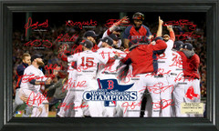 Boston Red Sox 2013 World Series Signed Framed Photo