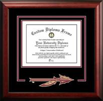 Florida State University Spirit Diploma Certificate Frame