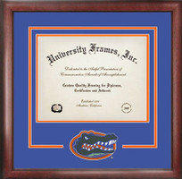 University of Florida Spirit Diploma Frame, Certificate Framing