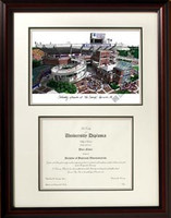 University of Florida Scholar Diploma Frame